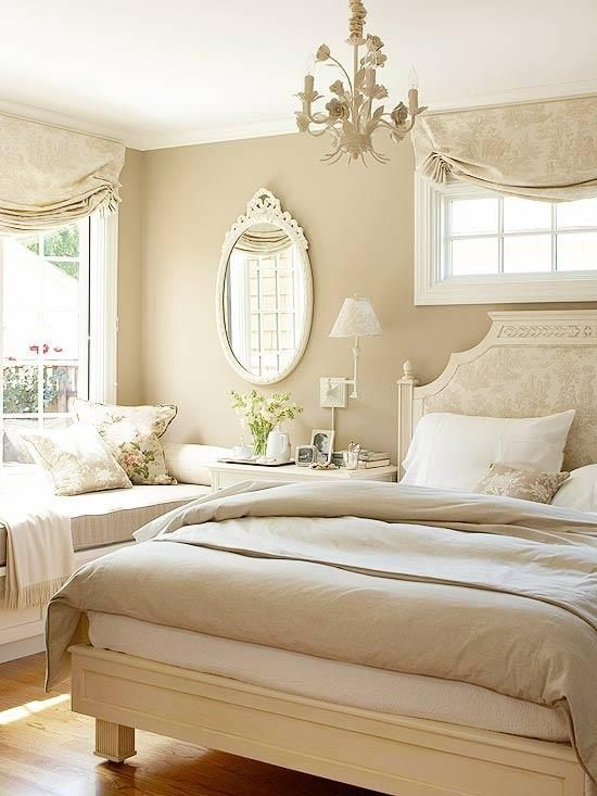 neutral colors for bedroom photo - 2