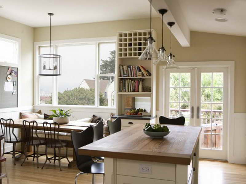 open kitchen to dining room photo - 1