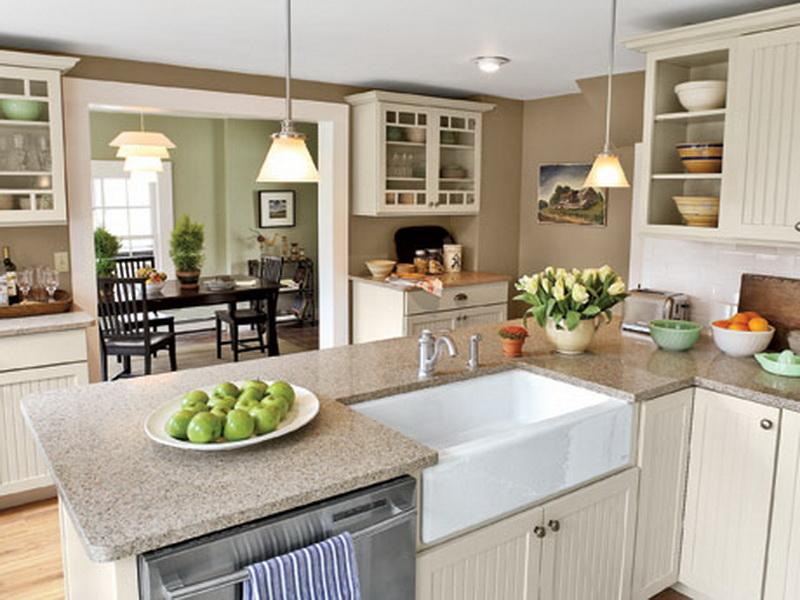 Opening kitchen to dining room large and beautiful photos Photo