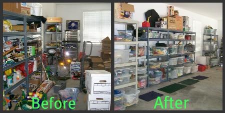 organize a garage photo - 1