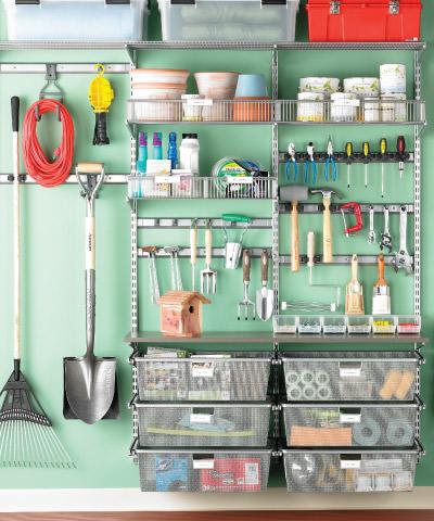 organizing a garage on a budget photo - 2