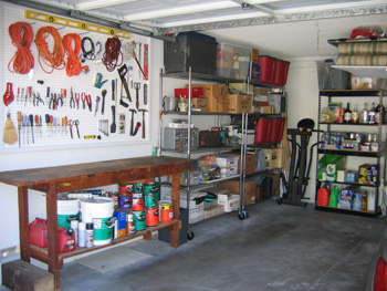 Charming Organizing Garage Space