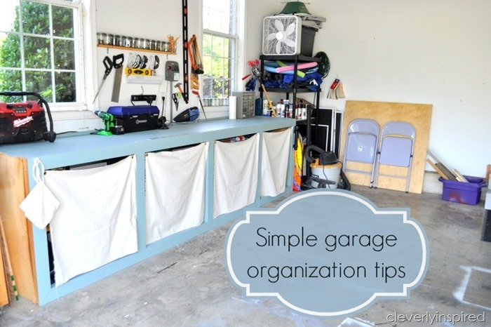 organizing garage tips photo - 2