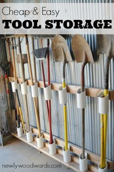 organizing garage tools photo - 2