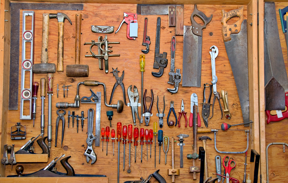 organizing ideas for garage photo - 2