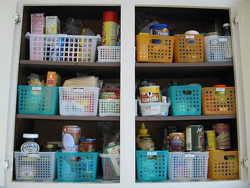 organizing small kitchen photo - 2