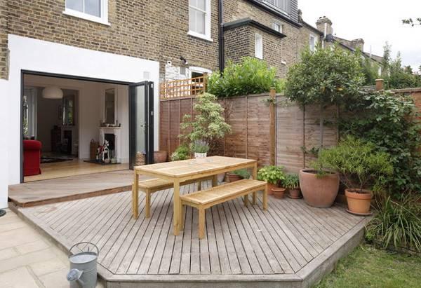 Outdoor Dining Area Ideas Photo