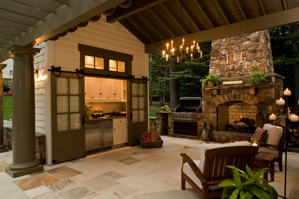 outdoor kitchen ideas for small spaces photo - 1