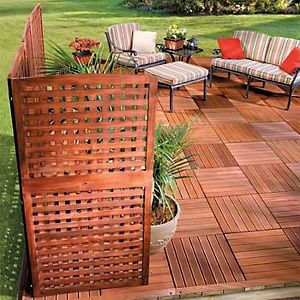 outdoor privacy screens for backyards photo - 2
