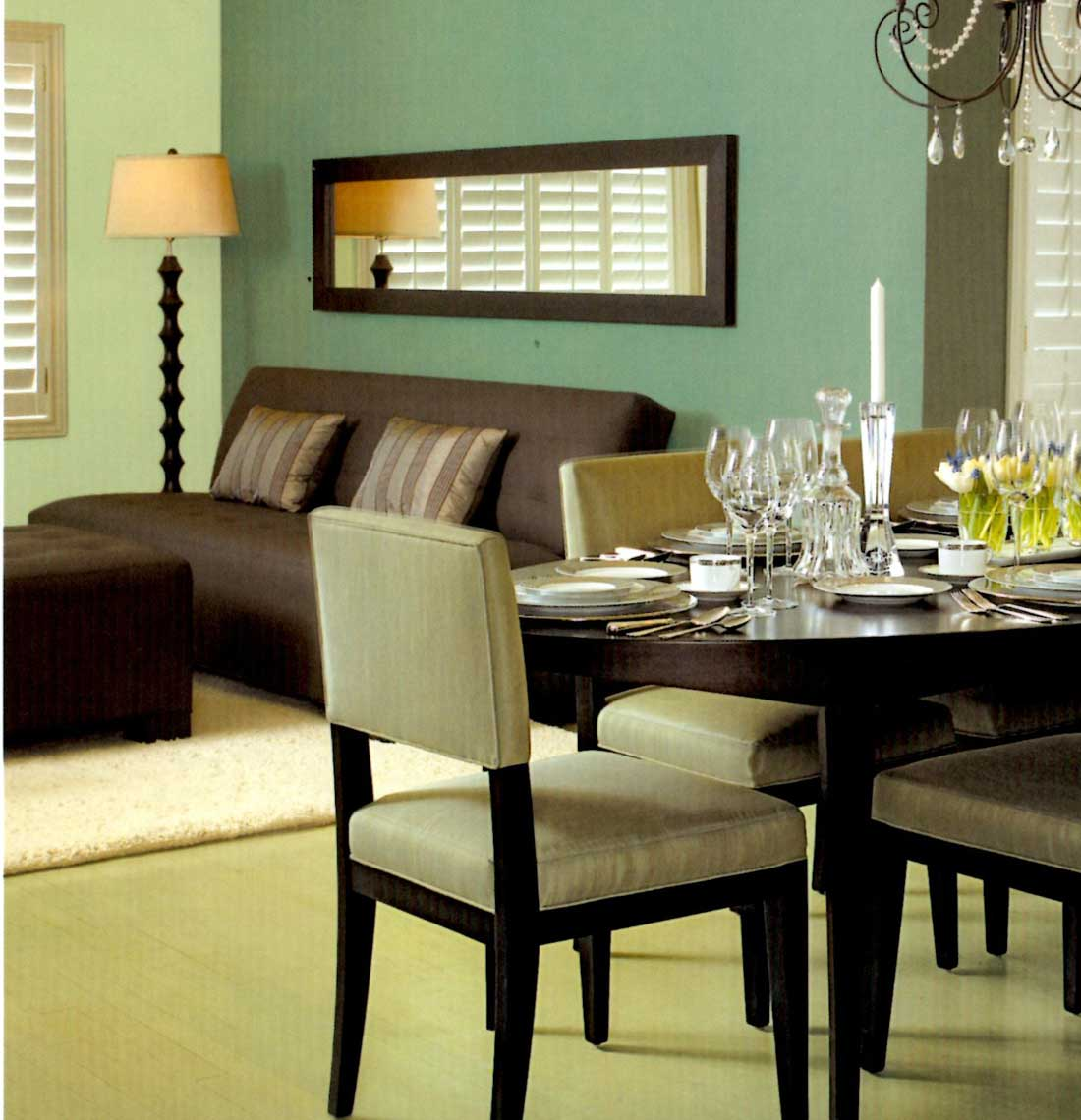 Paint Color For Dining Room Photo