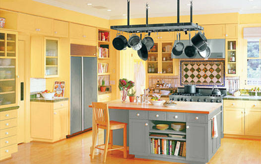 paint color for small kitchen photo - 1