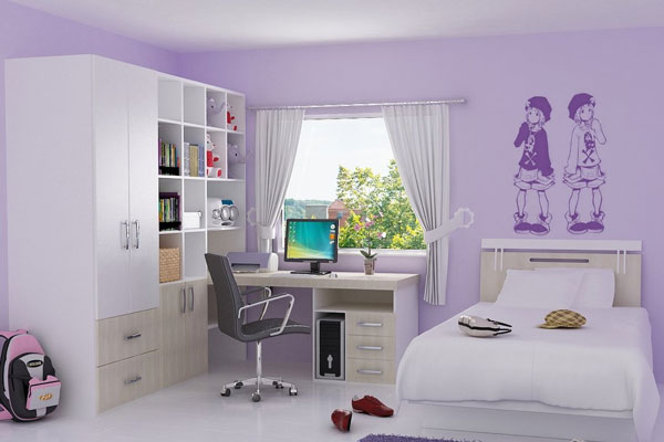 paint colors for girls bedroom photo - 2
