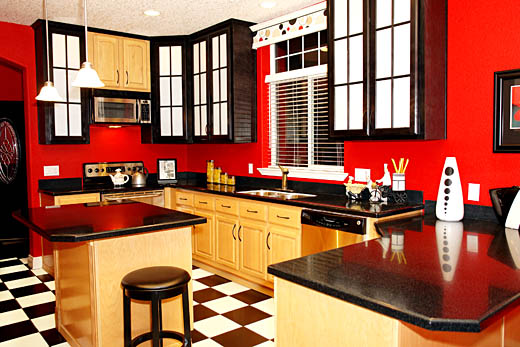 paint colors for small kitchen photo - 1