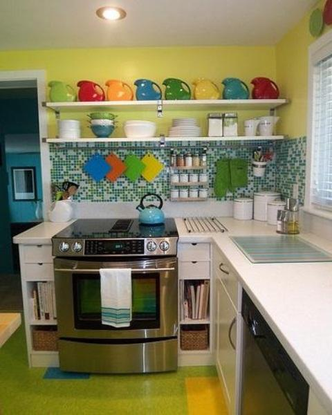 paint colors for small kitchens photo - 2
