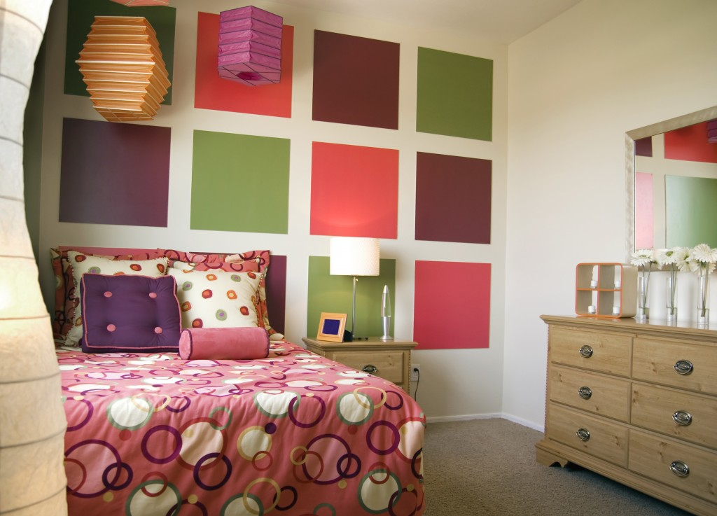 paint ideas for girls bedroom photo - 2