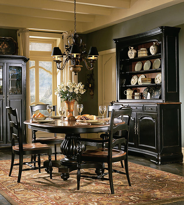 painted dining room sets photo - 1