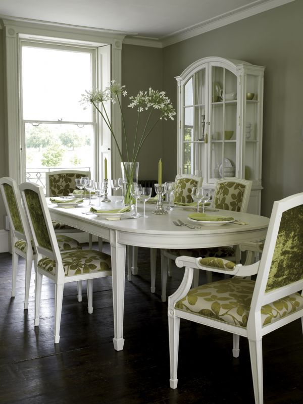 Painted dining room tables - large and beautiful photos. Photo to ...