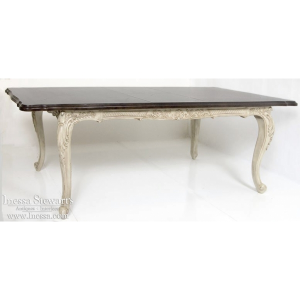 painted dining tables photo - 2