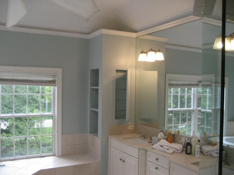 painting a bathroom. Painting a bathroom  large and beautiful photos Photo to select