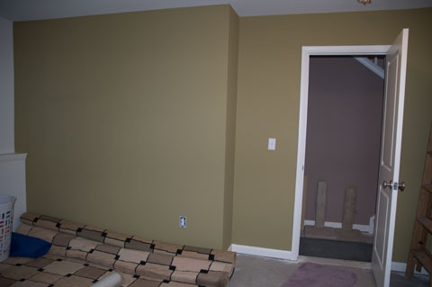 painting bedroom walls photo - 2
