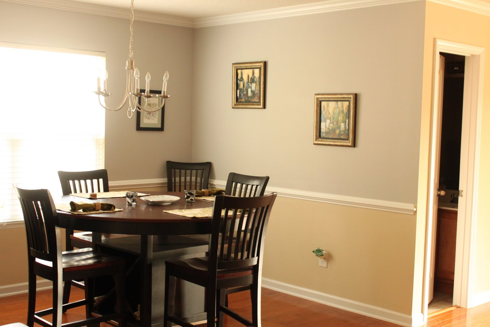 painting dining room photo - 2