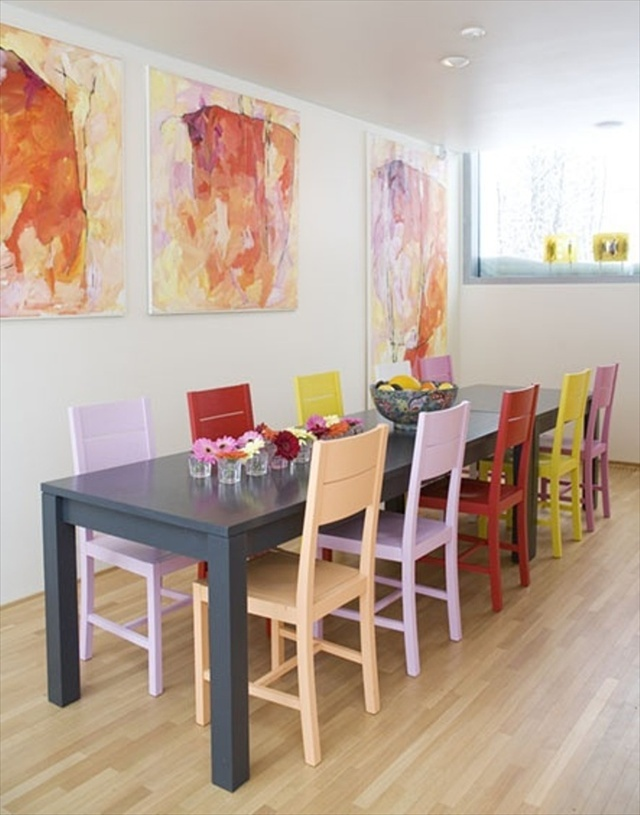 Painting Dining Room Chairs - Large And Beautiful Photos. Photo To