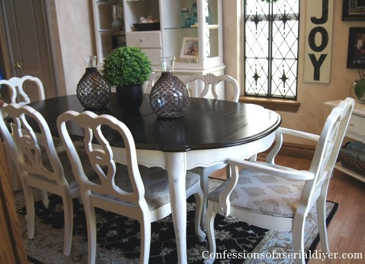 painting dining room furniture photo - 2