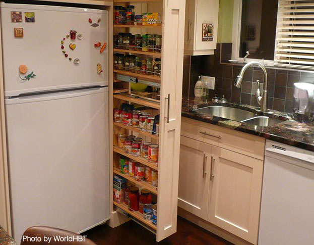 pantries for small kitchens photo - 1