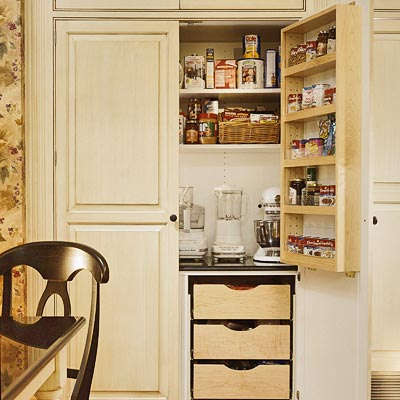Pantry ideas for small kitchen - large and beautiful photos. Photo ...