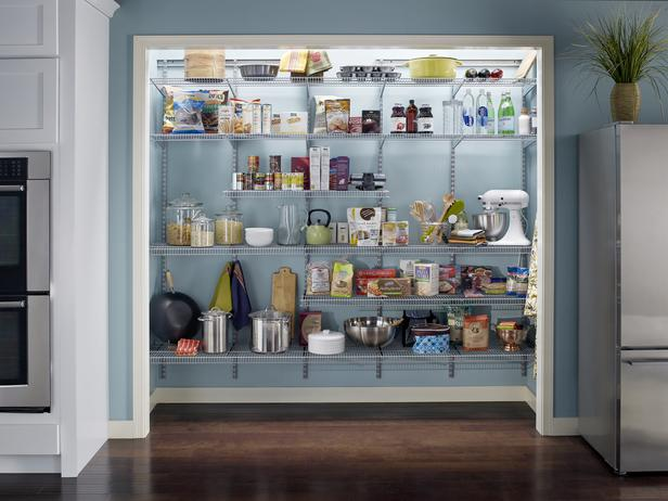 pantry ideas for small kitchen photo - 2