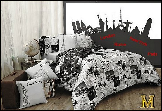 paris bedroom decor teenagers photo - 2
