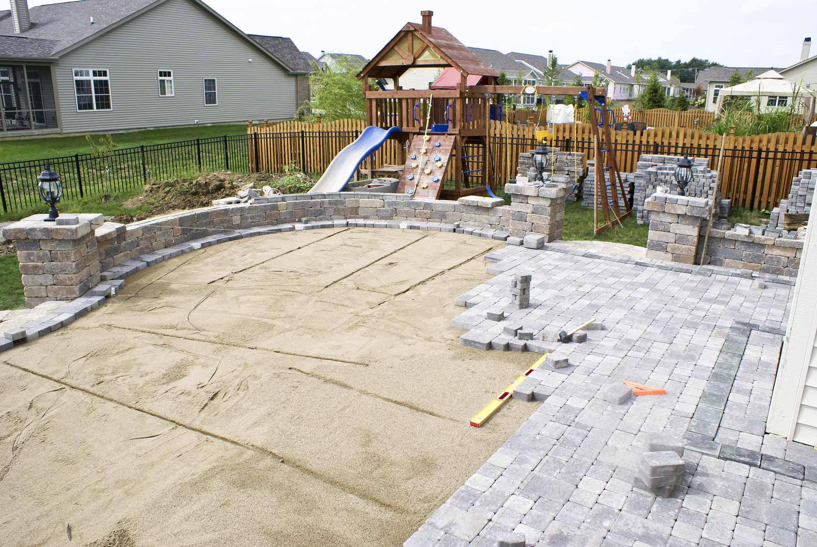 Large Paver Patio Designs Tosmun