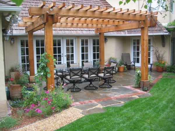 pergola backyard ideas photo - 1