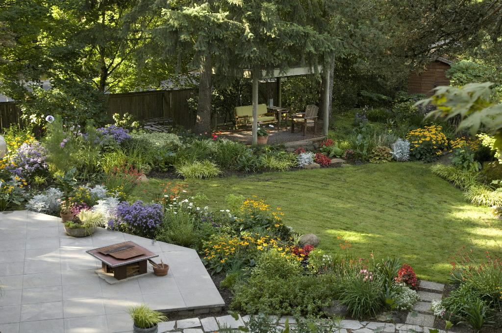 pics of backyards photo - 1