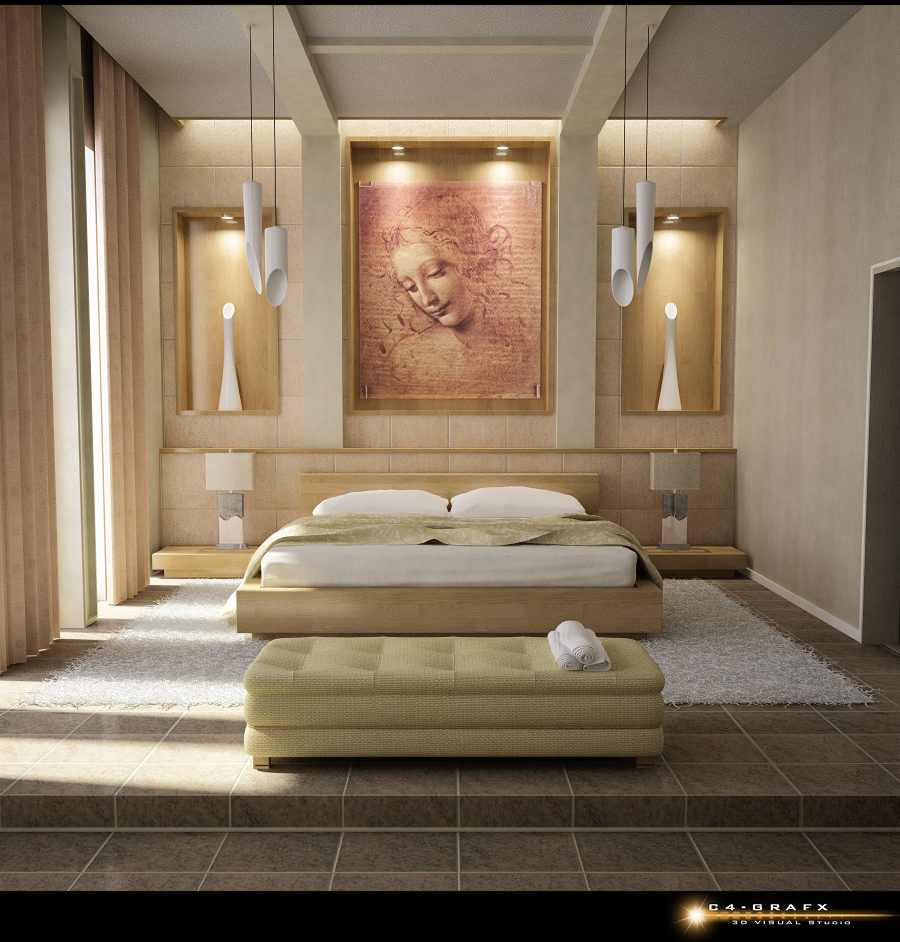 pictures for bedrooms walls photo - 2