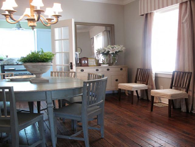 Pictures of painted dining room tables - large and beautiful photos ...