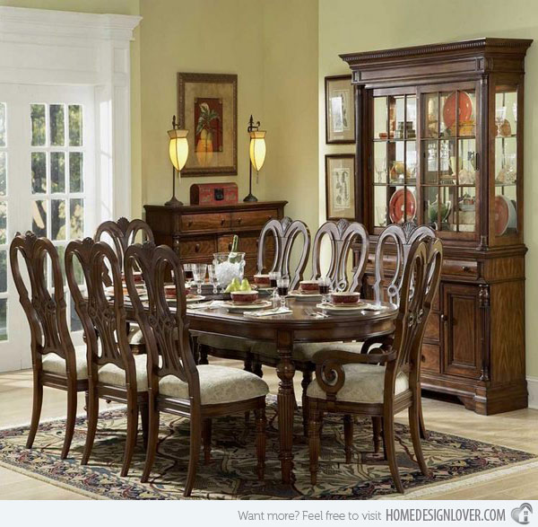 pictures of traditional dining rooms photo - 1