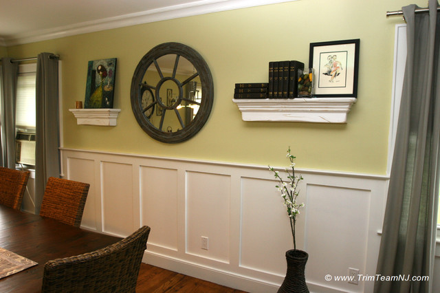 pictures of wainscoting in dining rooms photo - 2