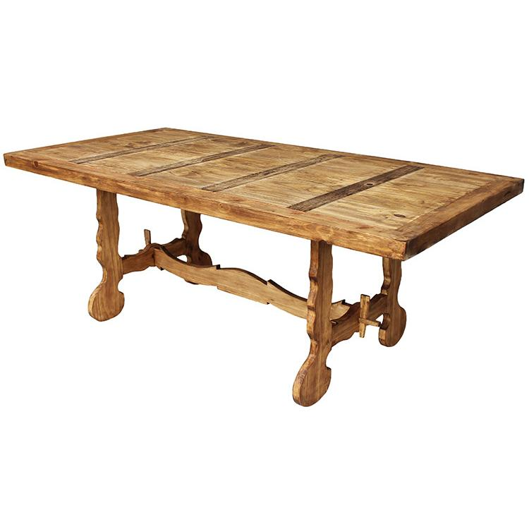 pine farmhouse dining table photo - 2