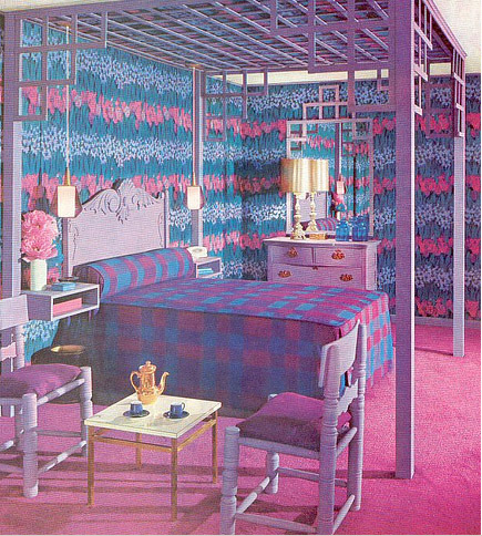 pink and purple girls bedroom - large and beautiful photos. photo
