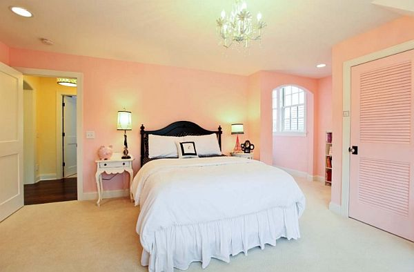 Pink walls bedroom - large and beautiful photos. Photo to select ...
