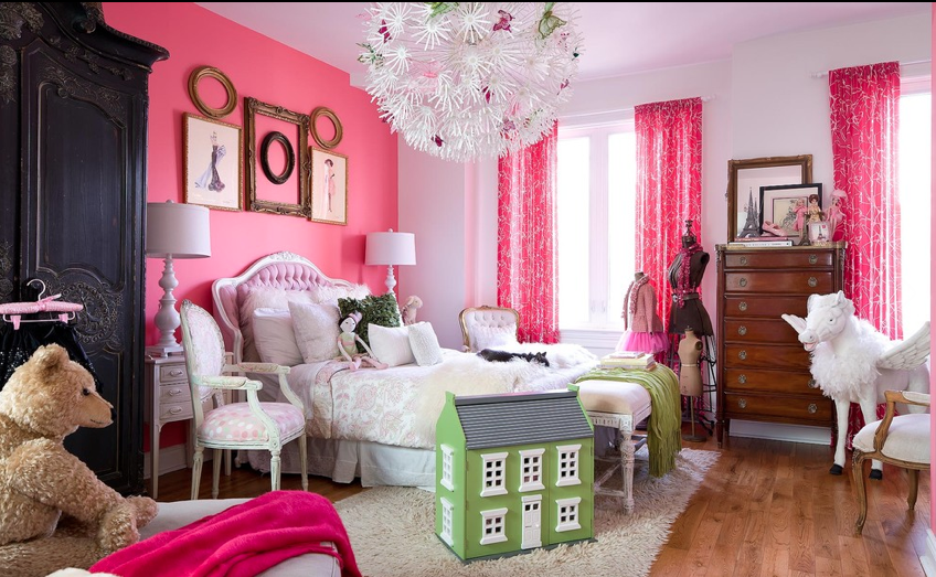 Pink walls bedroom - large and beautiful photos. Photo to ...