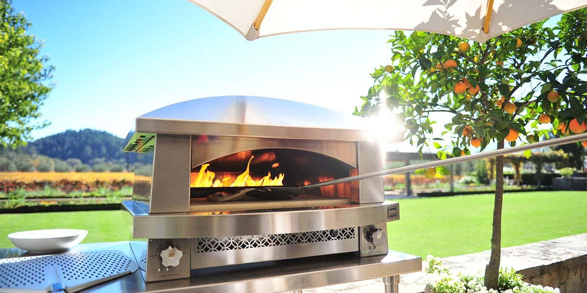 pizza oven backyard photo - 1