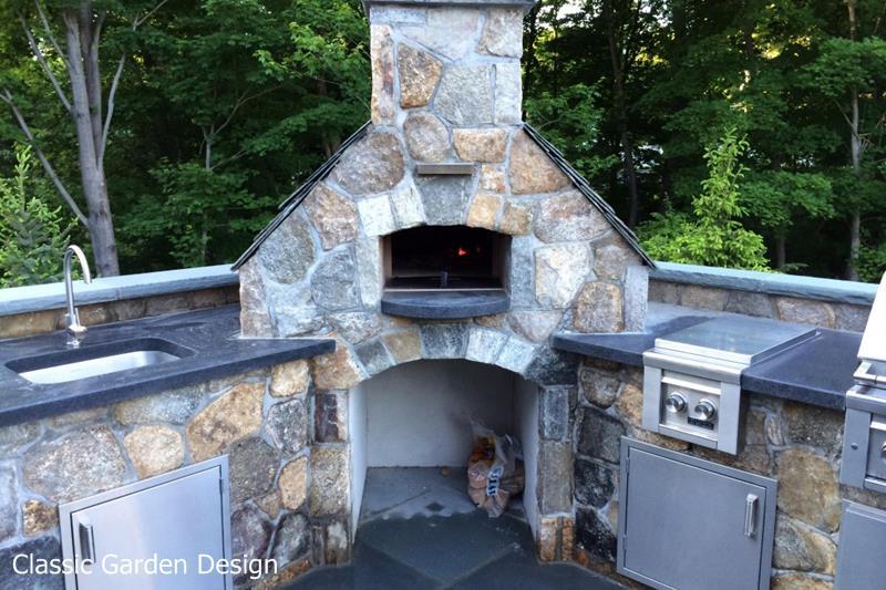 pizza oven backyard photo - 2