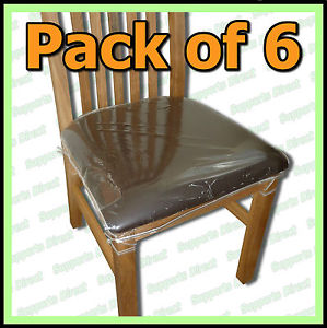 plastic seat covers for dining room chairs photo - 2