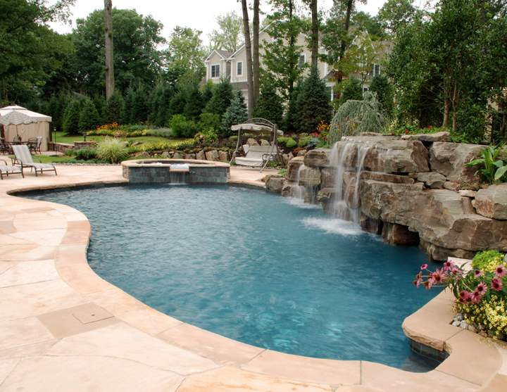 pool backyard designs photo - 1
