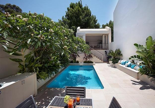 pool ideas for small backyard photo - 2