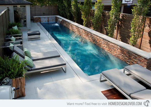 pool in small backyard photo - 1