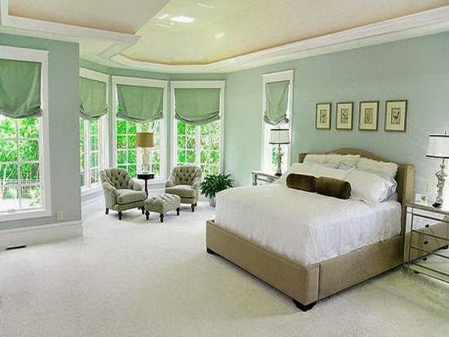 popular bedroom wall colors photo - 1