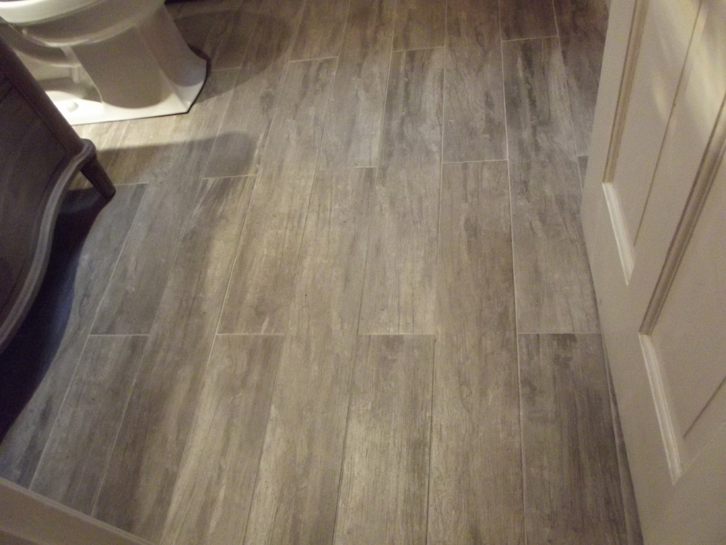Porcelain Or Ceramic Tile For Bathroom Floor